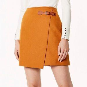 Pumpkin orange skirt